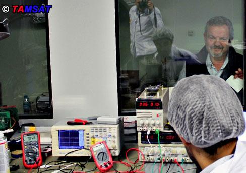 Figure - 5. Tahir, TA2T is following the tests.