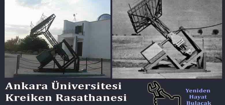 Kreiken Rasathanesi'ndeki Radyo Teleskop  Anteni'nin İncelenmesi