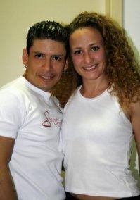 Luis Vasquez e Sophie