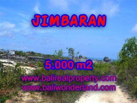 Tanah di Jimbaran dijual 50 Are Lingkungan villa di Jimbaran Pecatu