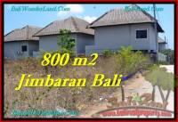 DIJUAL MURAH TANAH di JIMBARAN BALI 800 m2 di Jimbaran Ungasan