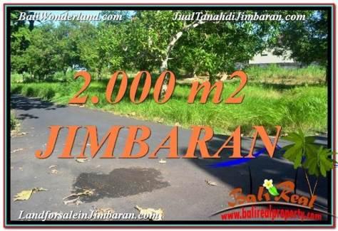 TANAH di JIMBARAN DIJUAL 20 Are di Jimbaran Uluwatu