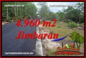 JUAL TANAH MURAH di JIMBARAN BALI 49.6 Are di JIMBARAN UNGASAN