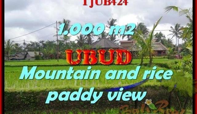 INVESTASI PROPERTY, TANAH MURAH di UBUD TJUB424