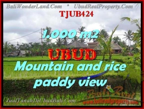 JUAL MURAH TANAH di UBUD BALI 1,000 m2 di Ubud Tegalalang