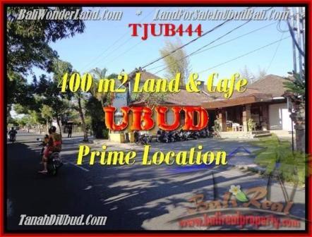 TANAH DIJUAL di UBUD 400 m2 di Sentral Ubud