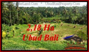 DIJUAL MURAH TANAH di UBUD 218 Are di Sentral Ubud