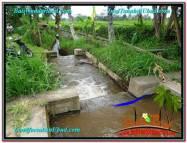 TANAH JUAL MURAH UBUD 1,822 m2 View Sawah Gunung dan Sungai kecil