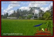 JUAL MURAH TANAH di UBUD 1,100 m2 View Sawah link Villa