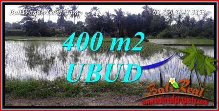 Tanah Murah Dijual di Ubud 400 m2 di Sentral Ubud