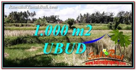 INVESTASI PROPERTY, JUAL MURAH TANAH di UBUD BALI TJUB760