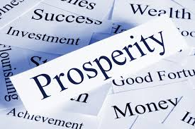 how to be prosperous