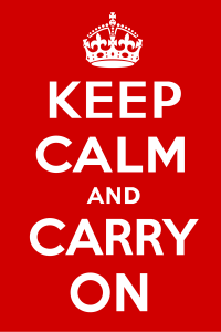 tanahoy.com keep calm and carry on