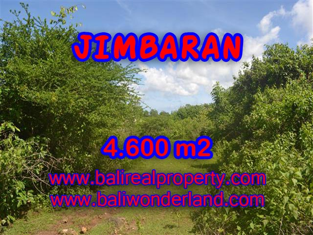 Tanah di Bali dijual 4.600 m2 di Jimbaran Ungasan
