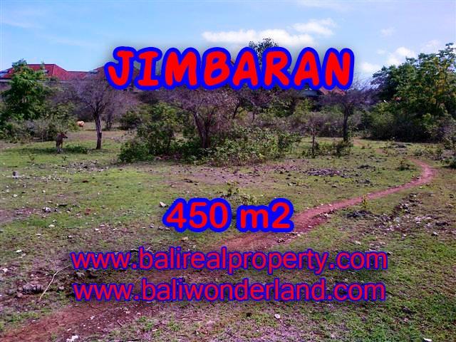 Jual tanah di Bali 450 m2 di Jimbaran Ungasan
