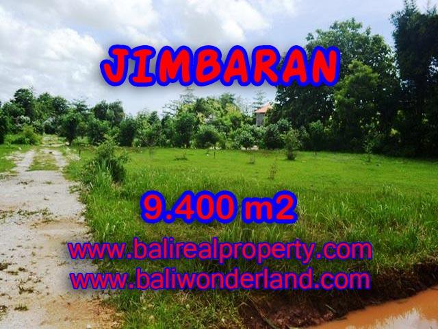 Tanah dijual di Bali 9.400 m2 di Jimbaran Ungasan