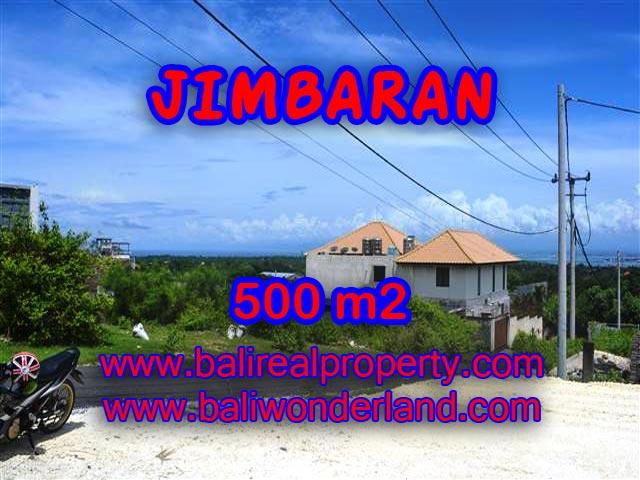 Tanah di Bali dijual 500 m2 di Jimbaran Ungasan