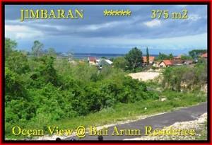 JUAL TANAH di JIMBARAN BALI 3,75 Are View laut Lingkungan villa