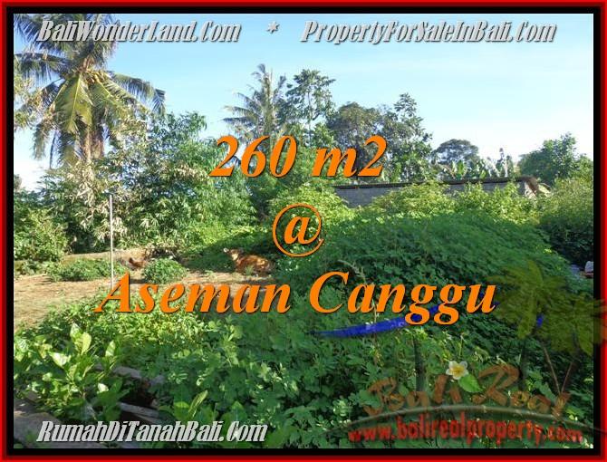 TANAH MURAH DIJUAL di CANGGU 2,6 Are di Canggu Brawa