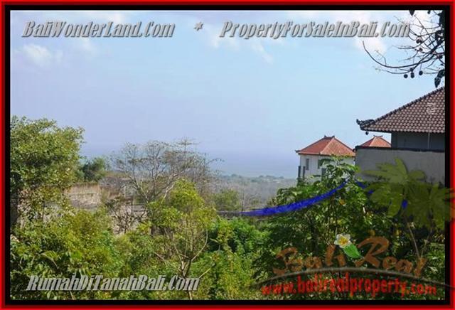 DIJUAL TANAH MURAH di JIMBARAN BALI 440 m2  View laut Lingkungan villa