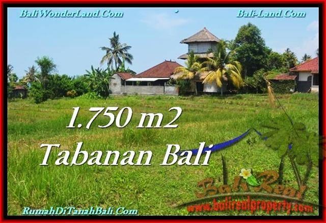 DIJUAL TANAH di TABANAN 1,750 m2 di Tabanan Selemadeg