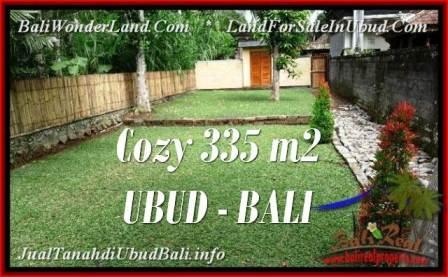 JUAL TANAH MURAH di UBUD BALI 335 m2 di Ubud Tegalalang
