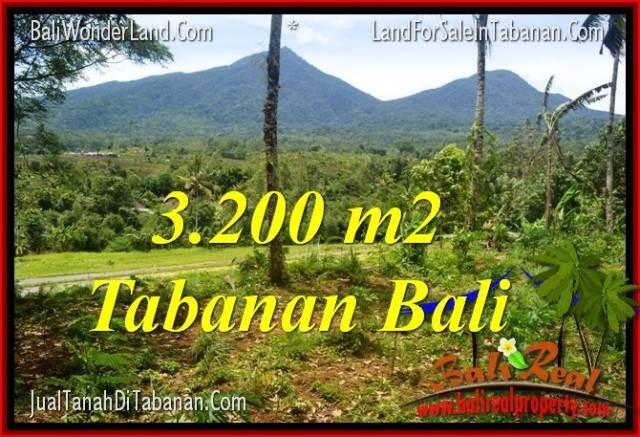 JUAL MURAH TANAH di TABANAN 32 Are View gunung dan sawah