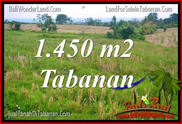 INVESTASI PROPERTI, TANAH MURAH DIJUAL di TABANAN TJTB343