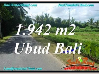 INVESTASI PROPERTY, TANAH MURAH di UBUD BALI TJUB626