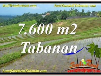 JUAL TANAH di TABANAN 76 Are View Laut, Gunung dan sawah