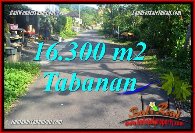 JUAL TANAH MURAH di TABANAN BALI 16,300 m2 di Tabanan Selemadeg Barat