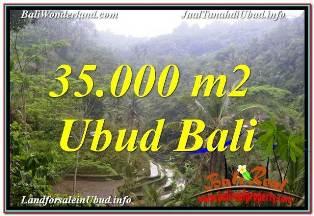 TANAH DIJUAL di UBUD BALI 35,000 m2 di UBUD TEGALALANG