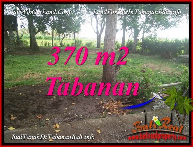 TANAH di TABANAN BALI DIJUAL MURAH 370 m2 di TABANAN SELEMADEG