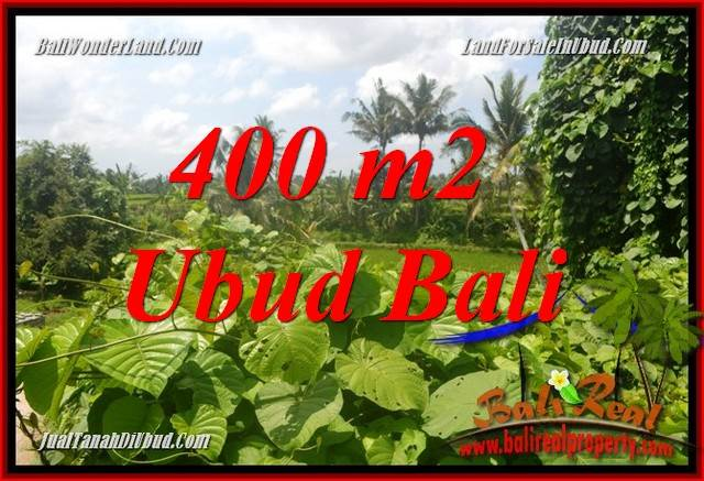 Dijual Murah Tanah di Ubud Bali 400 m2 di Sentral Ubud