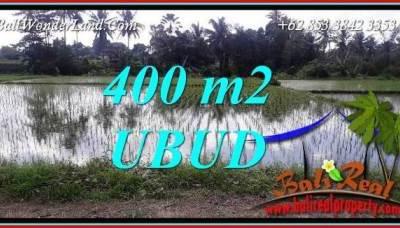 Dijual Murah Tanah di Ubud Untuk Investasi TJUB721