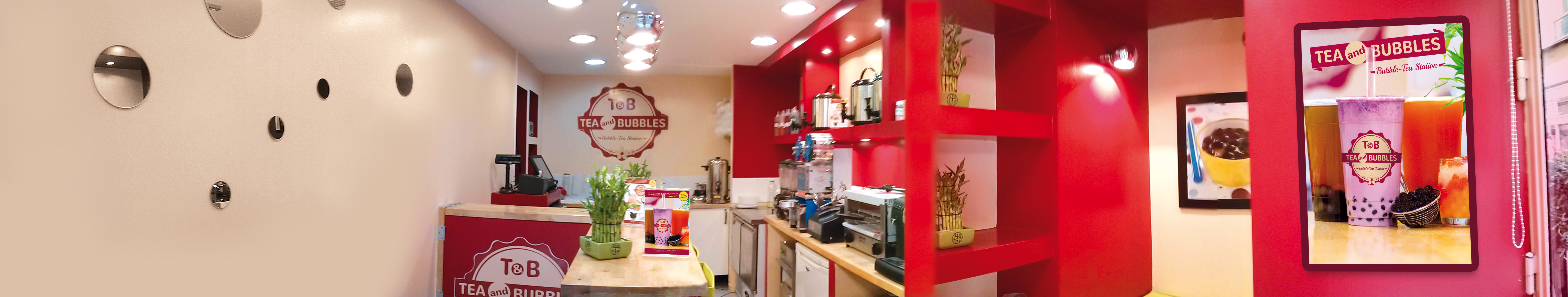 Tea and Bubbles - bubble-tea station