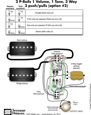 Seymour Duncan PRail wiring diagram help!   The Gear Page