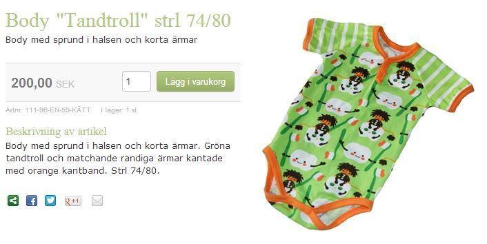 """baby body. Tack till Facebook-gruppen """"Tandsköterskor i Sverige"""" för tips! 45581c15db414"""
