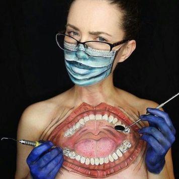 Halloween i tandvården.