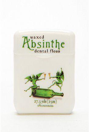 Absinthe dental floss