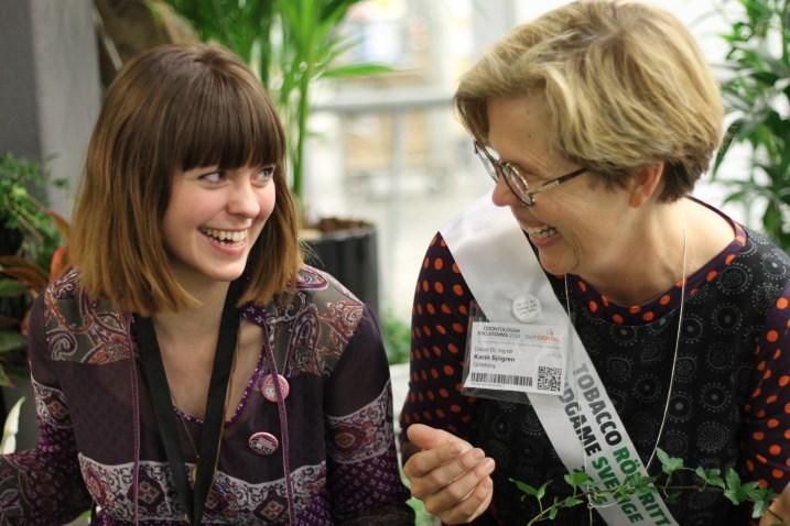 Events och planering för tandsköterskan Johanna Ene
