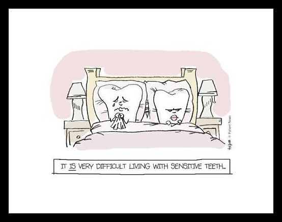 Känslig tand