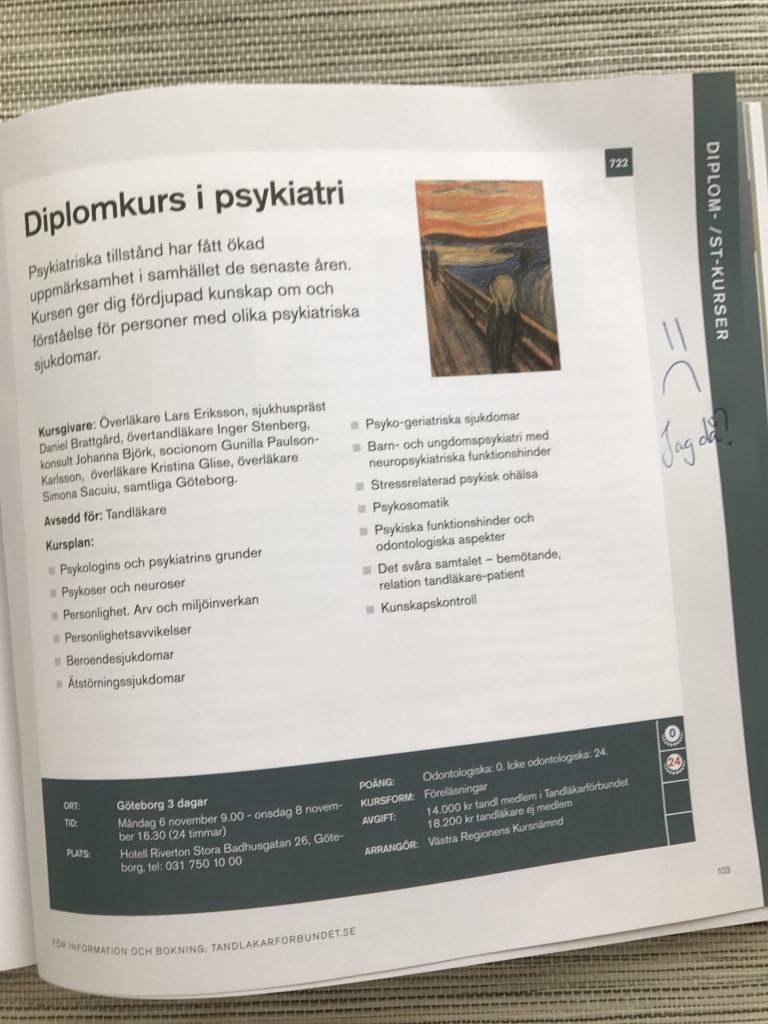 Tandläkarförbundet kurser 2017
