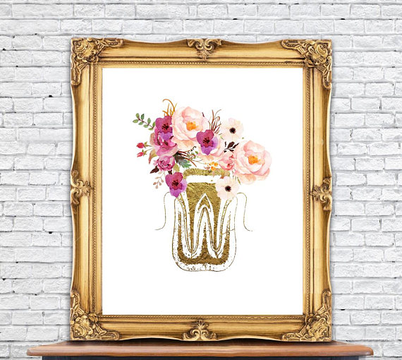Art print tooth