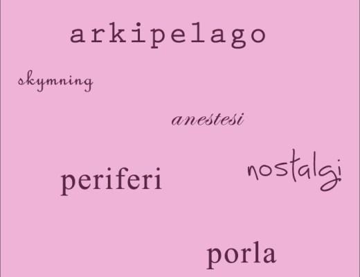 Vackra svenska ord