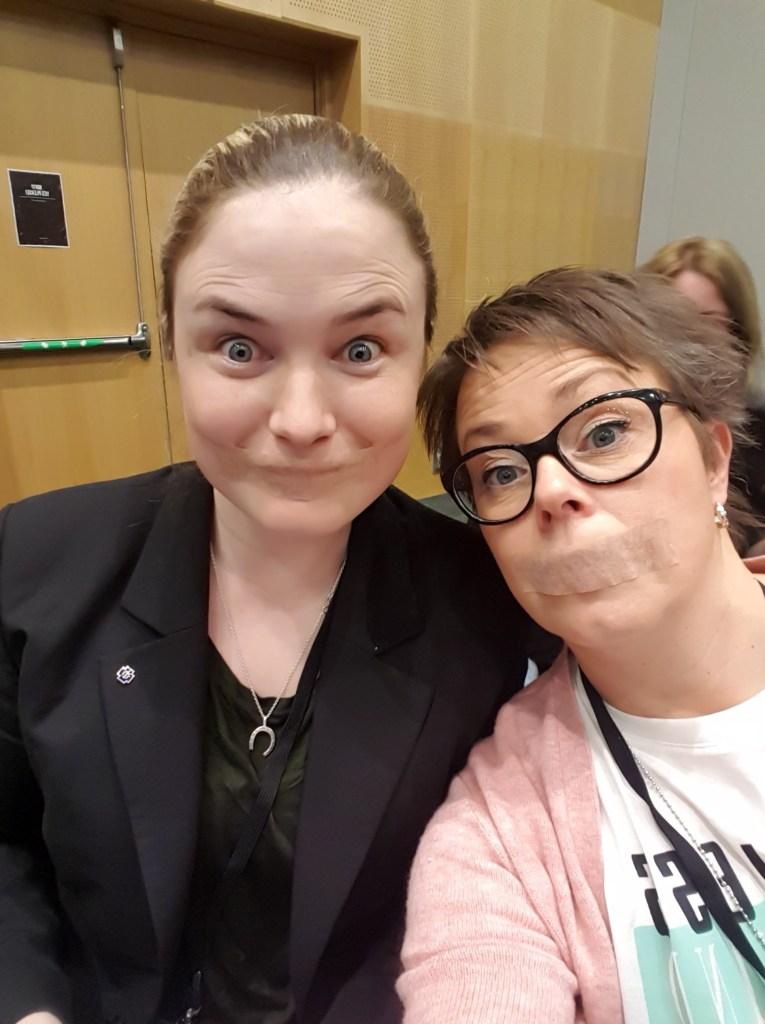 Svenska Tandsköterskeförbundets Yrkeskonferens 2019 i Stockholm. Foto Nina Sundin.