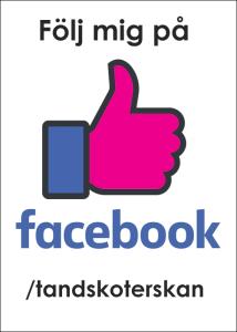 Följ tandsköterskan Johanna Ene på Facebook.