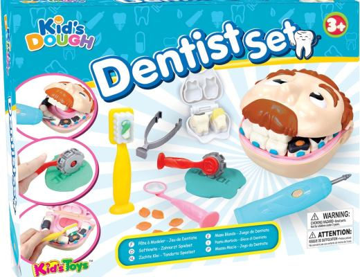 Leklera tandvård.