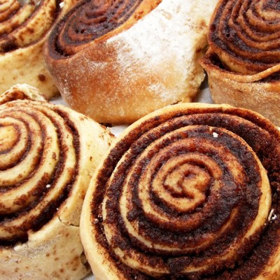Best Ever Frosted Cinnamon Rolls