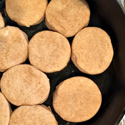 Easy Homemade Biscuits {You'll never buy store bought again}